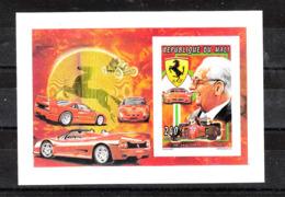 Mali  -   1995. Enzo Ferrari, E Auto Sportive. Enzo Ferrari, And Sports Cars. Fresh MNH Imperf. Sheet - Cars
