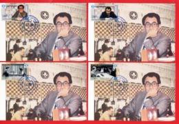 Armenien / Armenie / Armenia / Artsakh / Karabakh 2019, 90th Anniv. Of Tigran Petrosyan (1929-1984) Chess - Card Maximum - Arménie