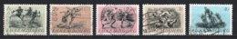 Luxembourg 1952 : Timbres Yvert & Tellier N° 455 - 456 - 457 - 458 - 459 Et 460 Oblit. - Gebruikt