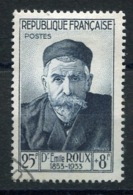 RC 14177 FRANCE N° 993 EMILE ROUX OBL. COTE 35€ TB - France