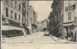 Ardèche : Aubenas, Le Faubourg Gambetta - Aubenas