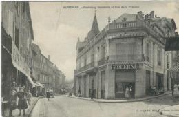 Ardèche : Aubenas, Le Faubourg Gambetta Et Rue De La Prévoté - Aubenas