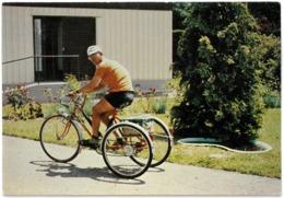 CP ANDRE DILINGER A Effectué Sur Son Tricycle 200 000 Km Soit 5 Fois Le Tour De La Terre - LESPARRE MEDOC - Cyclisme