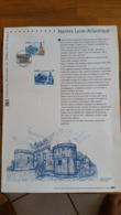Document Philathéliste  -1er Jour Nantes Loire Atlantique - Année 2003 - Timbre N° YetT 3552 - France
