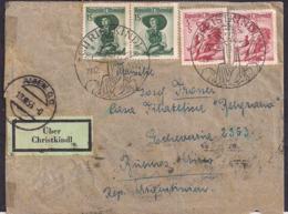 Österreich - 1953 - Brief - Christkindl - Argentinien - 1945-.... 2a Repubblica
