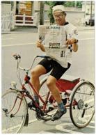 CP ANDRE DILINGER A Effectué Sur Son Tricycle 200 000 Km - Centre Esperanza - LESPARRE MEDOC - Cyclisme