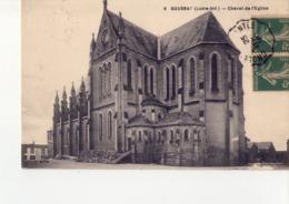 CPA BOUSSAY  - N° 44-4 -   CHEVET DE L'EGLISE - EDIT F.CHAPEAU - - Boussay