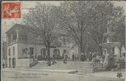 Ardèche : Vallon, Place Du Verger, Belle Animation - Vallon Pont D'Arc