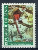 "Benin, 300f., Red-bellied Monkey (Cercopithecus Erythrogaster) ""Zin Kaka"", 1983, VFU - Bénin – Dahomey (1960-...)"