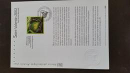 Document Philathéliste  -Saint Valentin - Yann Arthus Bertrand Année 2002 - Timbre N° YetT 3459 - Francia