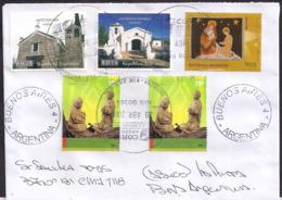 Argentina - 2008 - Lettre - Noël - Timbre Diverse - Covers & Documents