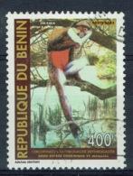 "Benin, 400f., Red-bellied Monkey (Cercopithecus Erythrogaster) ""Zin Kaka"", 1983, VFU - Bénin – Dahomey (1960-...)"