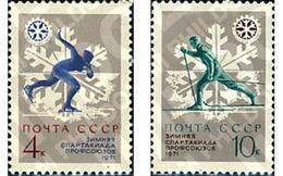 Ref. 63207 * MNH * - SOVIET UNION. 1970. SPARTAKIADAS DE INVIERNO DE LOS SINDICATOS. - Skiing