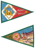 Fanion Ancien Tissu Mont Saint Odile , 763 M., Vintage Camping, Caravane - Camping