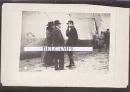 AVIATION Georges GUYNEMER  Guerre 14/18 - Photo Originale Prise Le Jour D'une Décoration Sur Le Front Avec Sa Famille - Aviation