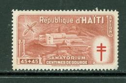 Tuberculose / Tuberculosis. Haïti; Timbre Scott Stamp # CB-5; Neuf, Trace De Charnière / Mint, Trace Of Hinge (8194) - Haiti