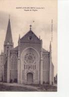CPA SAINT CYR EN RETZ  - N° 44-6 -   FACADE DE L'EGLISE - CLICHE STENOPEIQUE B F CHAUVET - - France