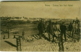 SYRIA - HOMS - TRINCEE LATO SUD - ITALIAN SOLDIERS - ALPINI - 1917  (BG4518) - Siria
