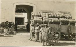 Real Photo Carros De Transporte  Exportador Gonzalez 1926 Tehuacan Puebla - Mexique