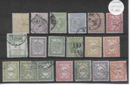 SURINAM - PETIT LOT TIMBRES OBLITERES - Surinam ... - 1975