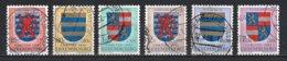 Luxembourg 1957 : Timbres Yvert & Tellier N° 534 - 535 - 536 - 537 - 538 Et 539 Oblit. - Luxemburgo