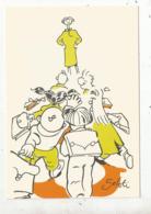 Cp, école , Série De 32 Cartes ,, N° 30  ,illustrateur Rudolphe SEBTI ,vierge - Ecoles