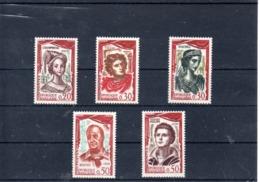 Francia Nº 1301-05 Tema Personajes, Serie Completa En Nuevo 7 € - Francia
