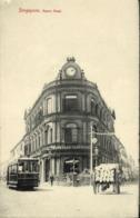 Straits Settlements, SINGAPORE, Anson Road, Boustead Institute, Tram (1910s) - Singapore