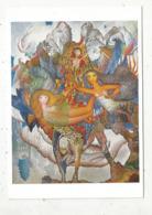 Cp, Arts , Peinture & Tabeaux , Aristide CAILLAUD ,1902-1990,  AUX RACINES DU MERVEILLEUX , Vierge - Malerei & Gemälde