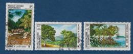 """Nle-Caledonie Aerien YT 147 à 149 (PA) """" Sites Et Paysages """" 1974 Oblitéré - Luftpost"""