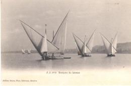 POSTAL   - BARQUES DU LEMAN - Postales