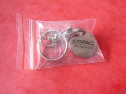 Jeton De Caddies Opac De L'oise  Dans Son Emballage - Trolley Token/Shopping Trolley Chip