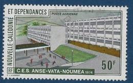 """Nle-Caledonie Aerien YT 153 (PA) """" Enseignement Supérieur """" 1974 Oblitéré - Luftpost"""