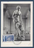 France - Carte Maximum - Manufacture Nationale De Sèvres - 1957 - Cartoline Maximum