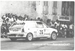 Monique Et Jean-Paul BOUQUET - Rallye - Citroën AX Sport ( Dpt 54 Meurthe Et Moselle ) - Rally