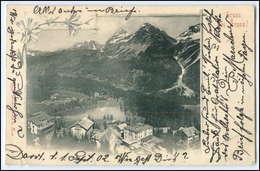 N4692/ Gruß Aus Arosa  Graubünden AK  1902 - Suiza