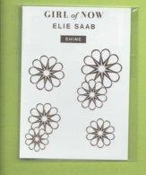 ELIE SAAB * GIRL Of NOW * TAATOO  GOLD - Cartes Parfumées