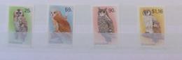 ZIMBABWE 1993 Owls Set Mnh - Owls