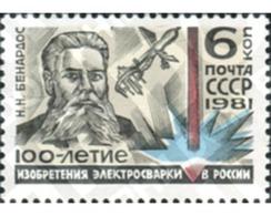 Ref. 357579 * MNH * - SOVIET UNION. 1981. ASTRONOMO - Ungebraucht