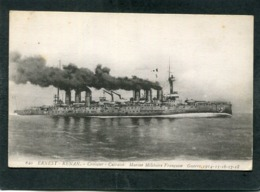 CPA - Marine Militaire Française - ERNEST RENAN, Croiseur Cuirassé - Guerra