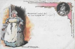 AK 0333  Fritz Reuter Postkarten - Festungstid / Verlag Michow Ca. Um 1900 - Märchen, Sagen & Legenden