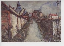 Tosny (Eure) Le Village - Wakhevitch (musée Des Décors Louvier) - France