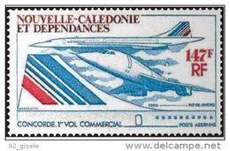 "Nle-Caledonie Aerien YT 169 (PA) "" Concorde "" 1976 Neuf** - Luftpost"