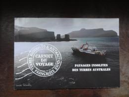 Carnet N°5 - 2007 - Paysages Insolites Des Terres Australes - Carnet C478 - Boekjes
