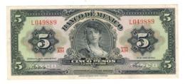 Mexico 5 Pesos 1963. XF. - México