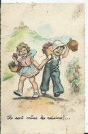 CARTE FANTAISIE - Illustration GERMAINE BOURET - Ils Sont Murs Les Raisins - Bouret, Germaine