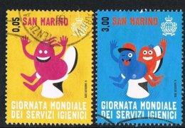 2015 - SAN MARINO - GIORNATA MONDIALE DEI SERVIZI IGIENICI / WORLD DAY OF HYGIENIC SERVICES - USATO / USED - Usati