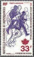 "Nle-Caledonie Aerien YT 172 (PA) "" JO Montréal "" 1976 Neuf** - Luftpost"