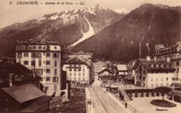 DPT 74 Chamonix Avenue De La Gare - Chamonix-Mont-Blanc