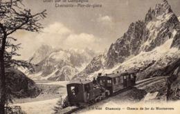 DPT 74 Chamonix Mer De Glace Chemin De Fer Du Montenvers - Chamonix-Mont-Blanc